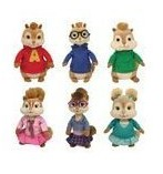 Alvin and the Chipmunks and Chipettes Beanie Babies