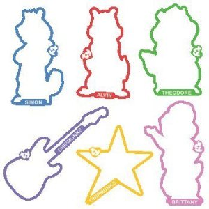 Alvin and the Chipmunks Beanie Silly Bandz